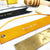 Yellow - Leather Bookmark