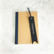 Navy - Leather Bookmark - Avaloncraftsg