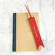 Red - Leather Bookmark - Avaloncraftsg