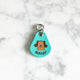 Cartoon Dog II - Bell Shape Pet Tag - Avaloncraftsg