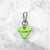 Grinch Green - Dog Shape Pet Tag - Avaloncraftsg
