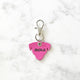 Hot Pink  - Dog Shape Pet Tag - Avaloncraftsg