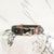 Camouflage - Henbury Leather Dog Collar (Silver) - Avaloncraftsg