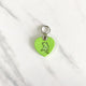 Grinch Green - Lazy Cat - Heart Shape Pet Tag - Avaloncraftsg