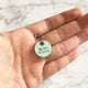 Mint - 2cm Round Pet Tag - Avaloncraftsg