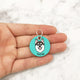 Paint Your Dog - 3cm Round Pet Tag - Avaloncraftsg