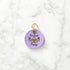 Lilac - Do Epic Poop - 3cm Round Pet Tag