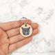 Paint Your Cat - 3cm Round Tag - Avaloncraftsg