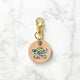 Natural - Mountains II - 3cm Round Pet Tag - Avaloncraftsg