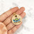 Natural - Mountains II - 3cm Round Pet Tag