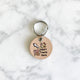 Natural - Treats - 3cm Round Pet Tag - Avaloncraftsg
