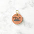 Rose Gold - 3cm Round Pet Tag