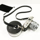 Black - Skinny Leather Camera Strap