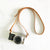 Skinny Leather Camera Strap with Buckle & Lug Protector - Avaloncraftsg