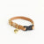 Natural - Tiny Tilbury Cat Collar (Gold) - Breakaway