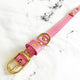 Barbie Pink - Tilbury Deluxe Dog Collar - Avaloncraftsg