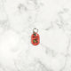 Chili Red Glitter - Cactus - Tiny Pet Tag - Avaloncraftsg