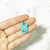 Turquoise Blue - Maltese - Tiny Pet Tag - Avaloncraftsg