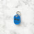 Light Blue - Double Paws - Tiny Pet Tag - Avaloncraftsg