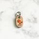 Natural - Happy Cat - Tiny Pet Tag - Avaloncraftsg