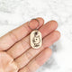 Natural - Shiba Inu Doge - Tiny Pet Tag