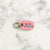 Petal Pink - Double Paws 2 - Tiny Pet Tag - Avaloncraftsg