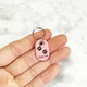 Petal Pink - Heart - Tiny Pet Tag - Avaloncraftsg