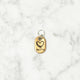 Rose Gold - Heart I - Tiny Pet Tag - Avaloncraftsg