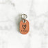 Rose Gold - Heart III - Tiny Pet Tag