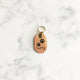 Rose Gold - Double Paws - Tiny Pet Tag - Avaloncraftsg