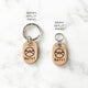 Rose Gold - Doodle Single Paw - Tiny Pet Tag - Avaloncraftsg