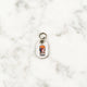 Silver - Bowie - Tiny Pet Tag - Avaloncraftsg