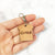 Wooden Bread Tag with Name - Avaloncraftsg