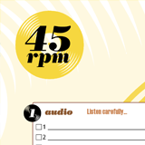 45 RPM Music Quiz