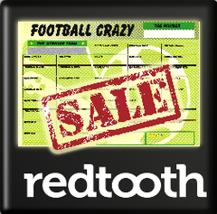 Football Crazy Scratch Cards - Buy 100 get 100 Free!