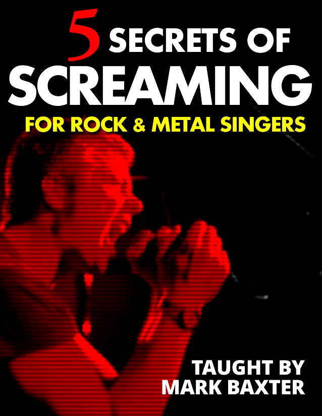 The 5 Secrets of Screaming for Rock & Metal singers and vocalists (MP3)