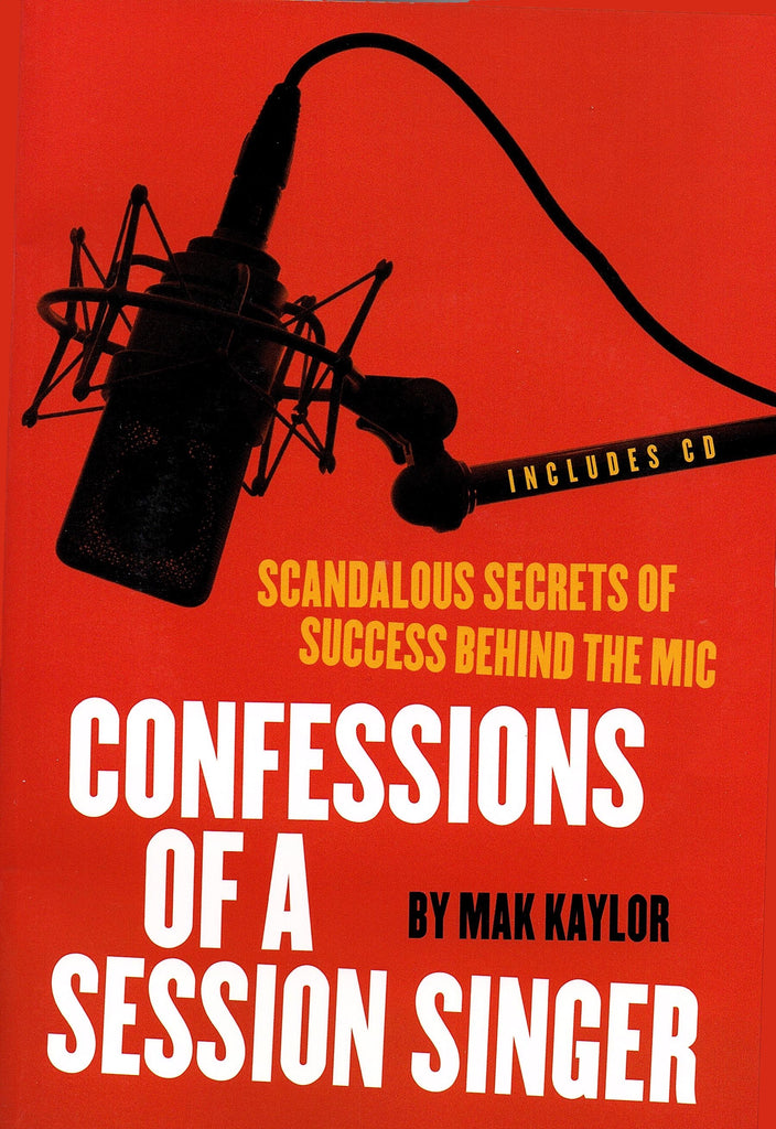 Confessions of a Session Singer (with CD)