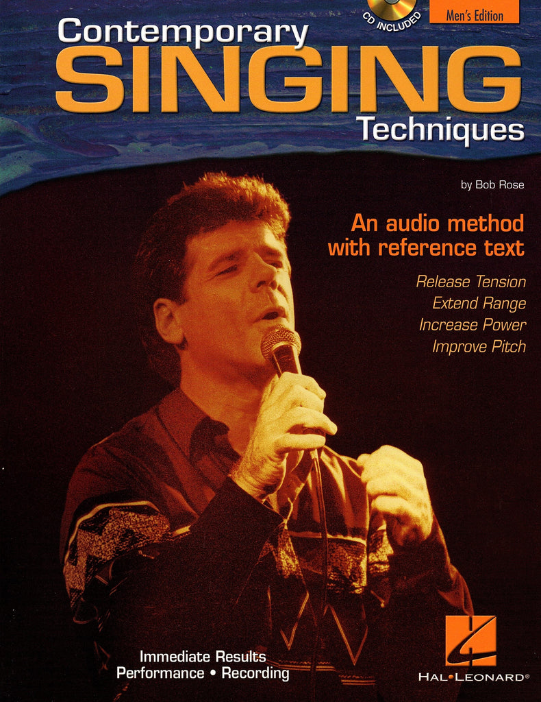 Contemporary Singing Techniques - Men's Edition (with CD)