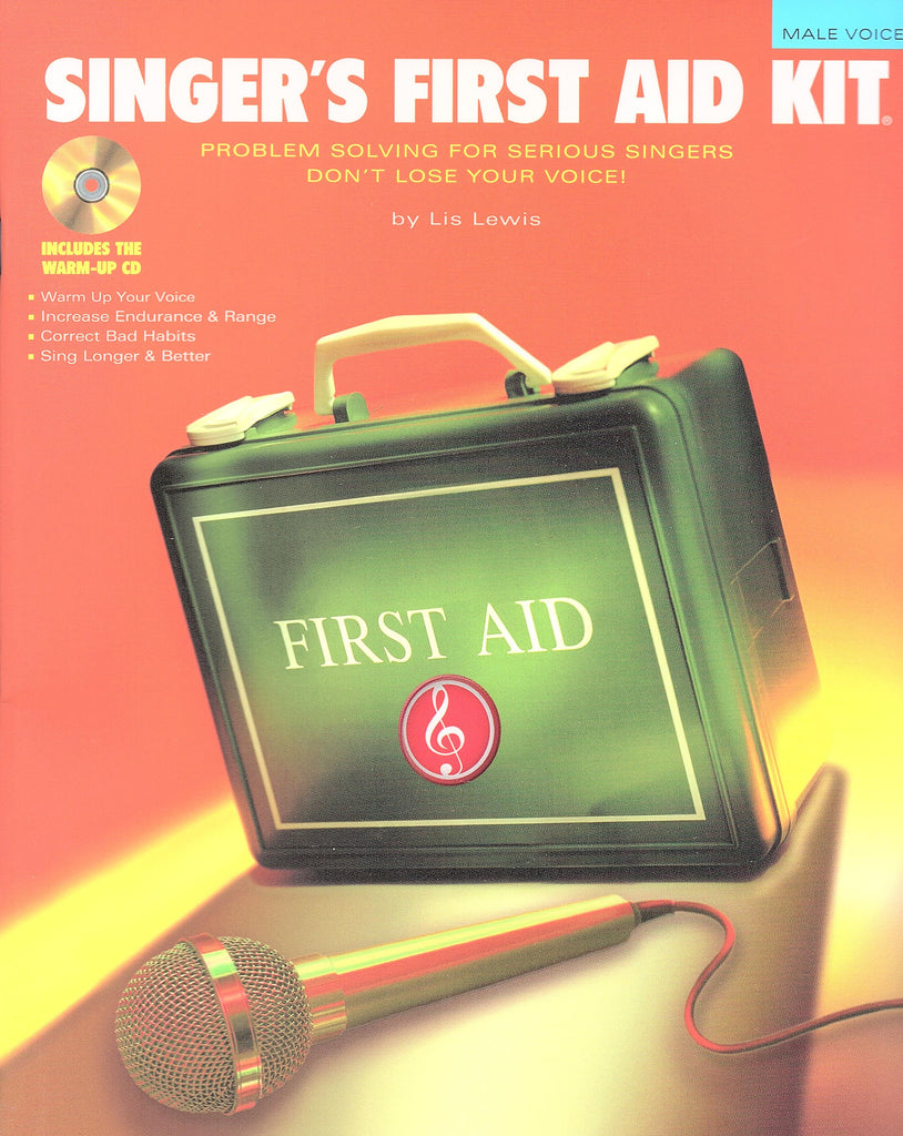 Singer's First Aid Kit - Male Voice (with CD)