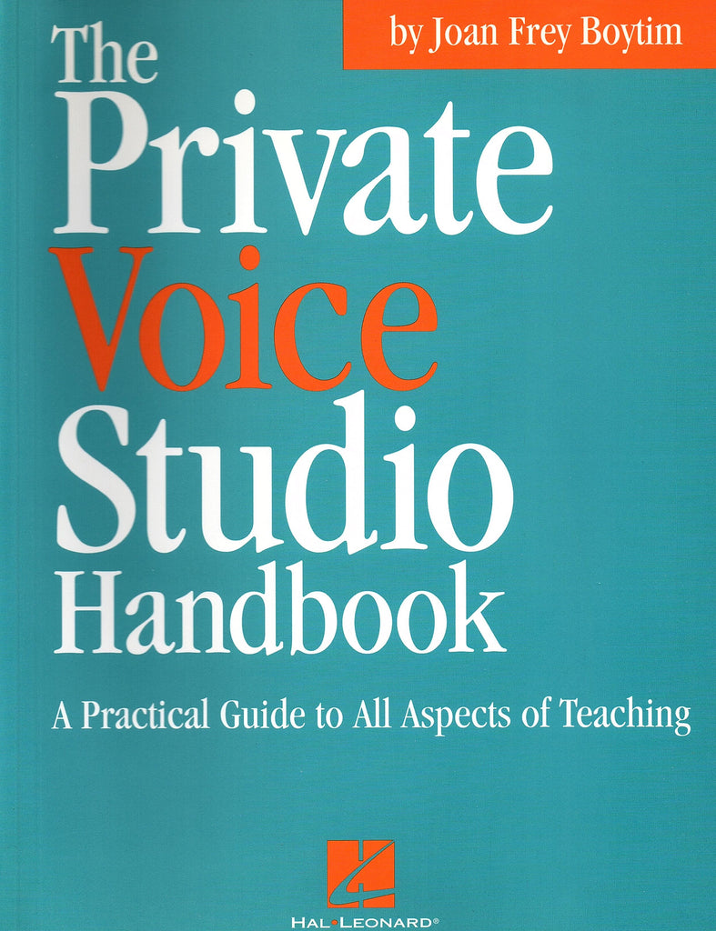 The Private Voice Studio Handbook