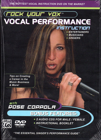 Rock Your Vox Vocal Performance Instruction (DVD)
