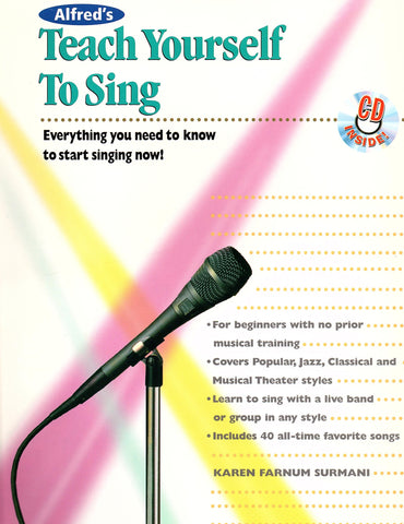 Teach Yourself to Sing  (with CD)