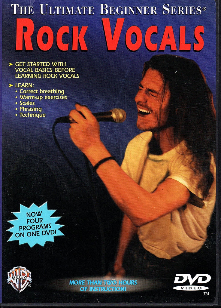 The Ultimate Beginner Series - Rock Vocals (DVD)