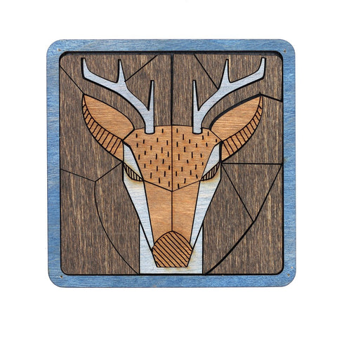 Puzzle Coaster - Animals