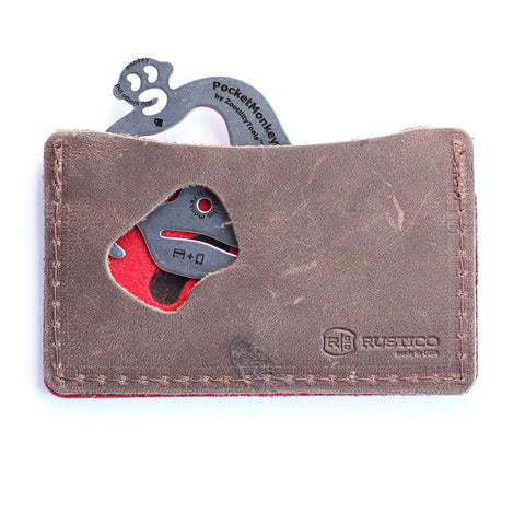 Rustico PocketMonkey Wallet