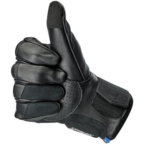 BILTWELL Belden Gloves - Black/Black