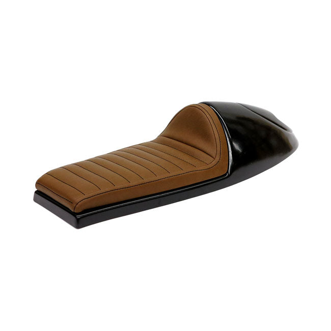 C-RACER - UNIVERSAL LONG CLASSIC B SEAT DARK BROWN - PART No 578573