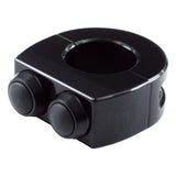 MOTOGADGET M-SWITCH PUSH BUTTON HOUSING - 7/8 INCH - Black