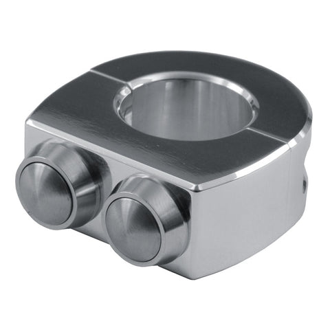 MOTOGADGET M-SWITCH PUSH BUTTON HOUSING - 7/8 INCH - Polished
