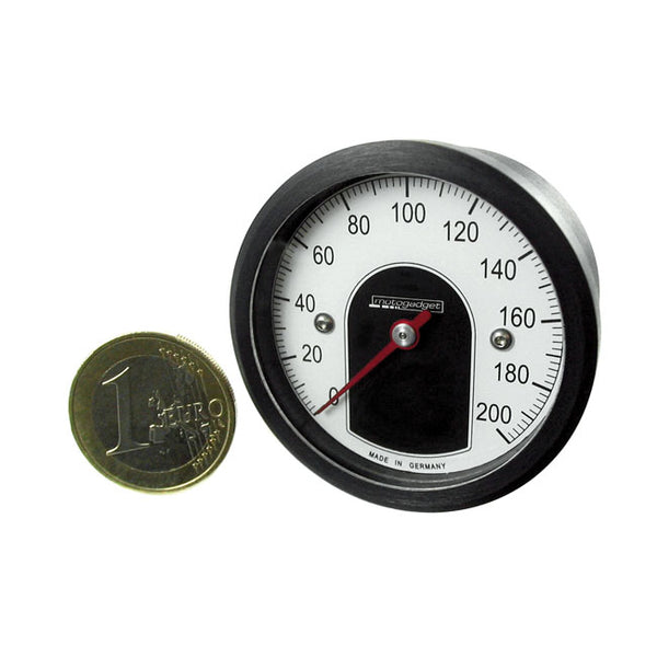 Motogadget Motoscope Tiny Speedometer - BLACK